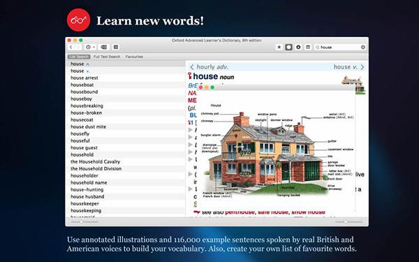 牛津英语高阶词典 V8.6.946 Mac版界面图1