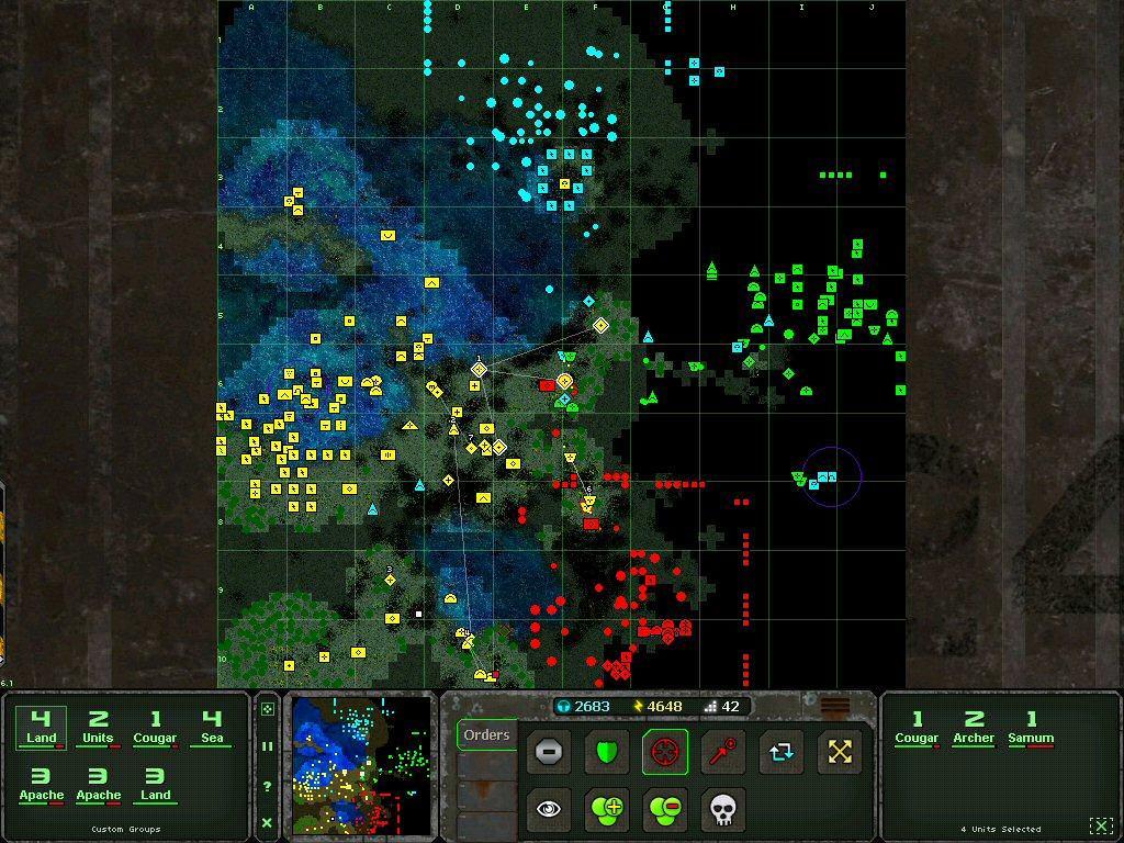 海陆空大战 v1.0.4 安卓版界面图4