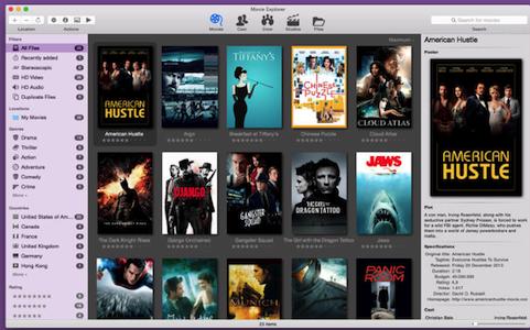 Movie Explorer  V1.7.1  Mac版界面图2