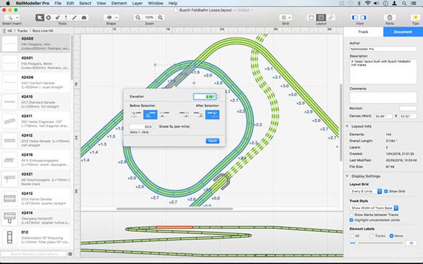 RailModeller Pro V5.3  Mac版界面图2