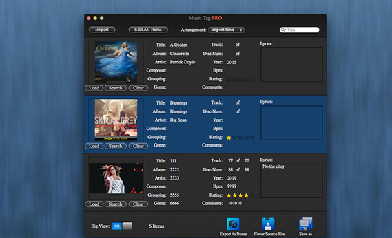 Music Tag Pro for Mac V3.1.6 免费版界面图2