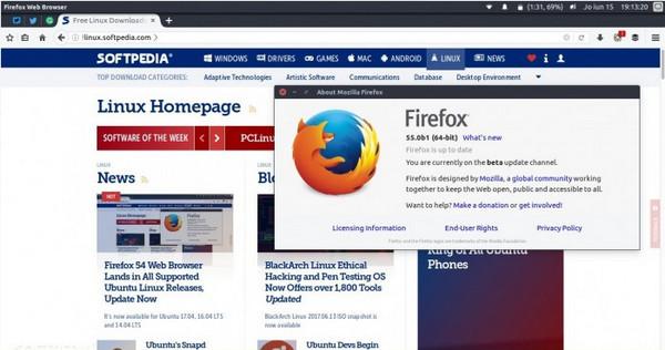 火狐浏览器测试版官方第1张预览图