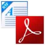 FoxPDF RTF to PDF Converter v3.0 官方版