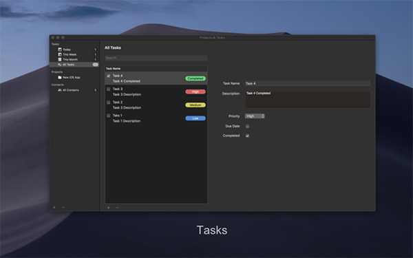 Projects Tasks v1.0 mac版