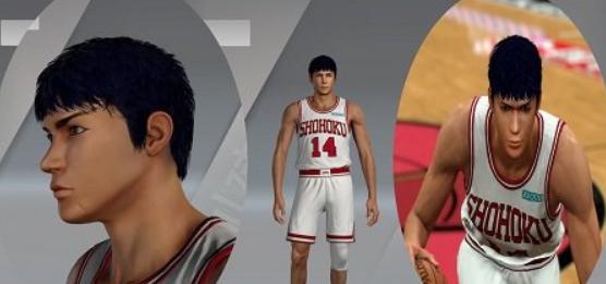 NBA2K20三井寿身形面补MOD下载预览图