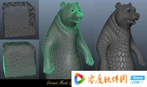 Voronoi Mesh Generator下载预览图