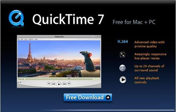 quicktime官方网站_QuickTime官方下载_QuickTime Player最新版官方下载 v7.7.9 Win10专业版(附 ...