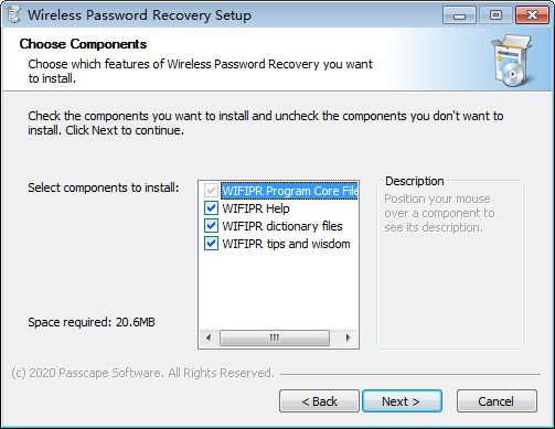 Wireless Password Recovery第2张预览图