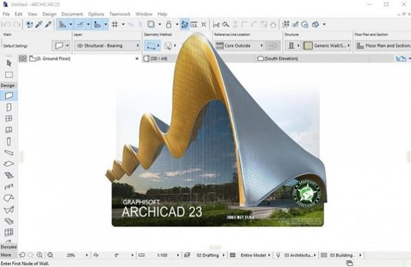 ArchiCAD 23中文破解版第1张预览图